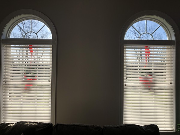 "Graber 2 1/2"" Real Wood Blinds with Legacy Valances in Central Valley NJ"