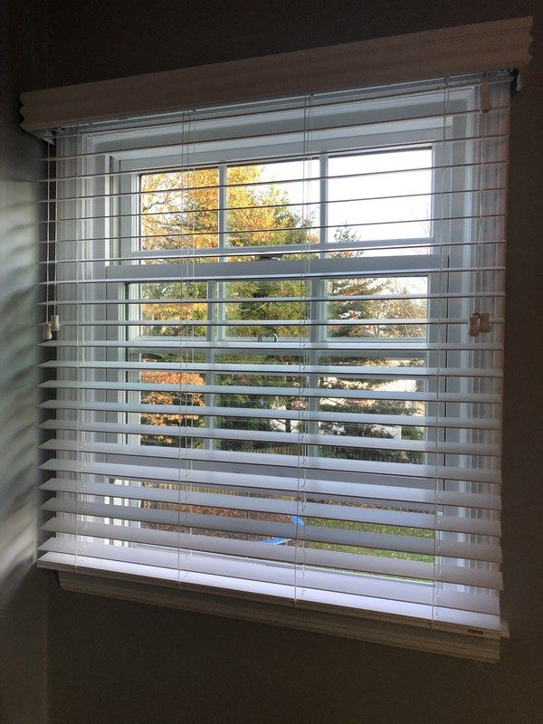"Graber 2"" FauxWood Blinds in River Vale NJ"