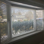 Graber 2 inch Faux wood blinds with 3 inch Classic valances in Waldwick, NJ