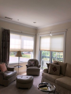 Graber Cellular Shades Installed in Tenafly, NJ