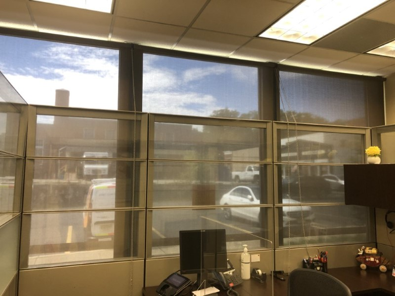 Graber clutch roller shades installed in Ridgewood NJ