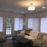Cafe Style Plantation shutters in Woodcliff Lake NJ