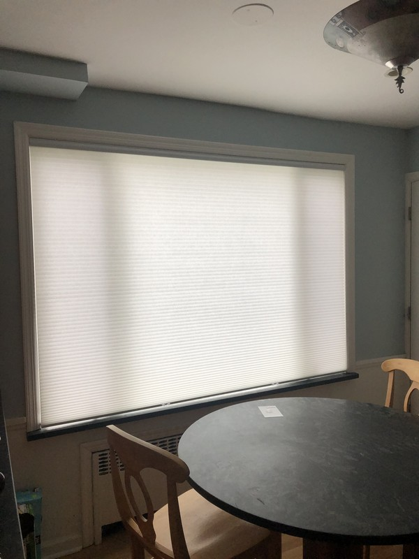 Graber Cordless Semi-Opaque Cellular Shades in Tenafly NJ