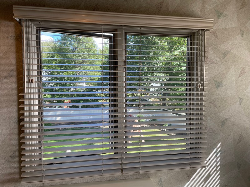 Graber Real Wood Blinds with Majestic Valances in Montvale, NJ