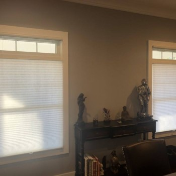 Graber Single Cell Cellular Shades Installed in Ho-Ho-Kus, NJ