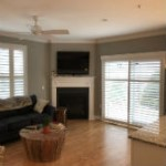 Hunter Douglas Bi pass plantation shutters in Allendale, NJ