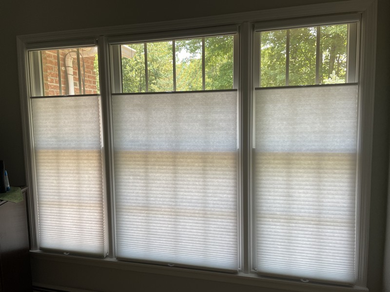 Hunter Douglas Top Down/Bottom Up Cordless Cellular Shades in West Milford NJ