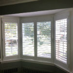 Hunter Douglas Faux Wood Shutters in Saddle River, NJ