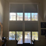 Hunter Douglas Motorized Blackout Shades in Montvale, NJ