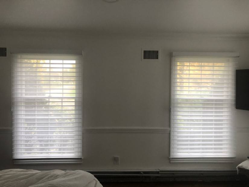 Hunter Douglas Nantucket Sheer Shades and Headrail in Upper Saddle River, NJ