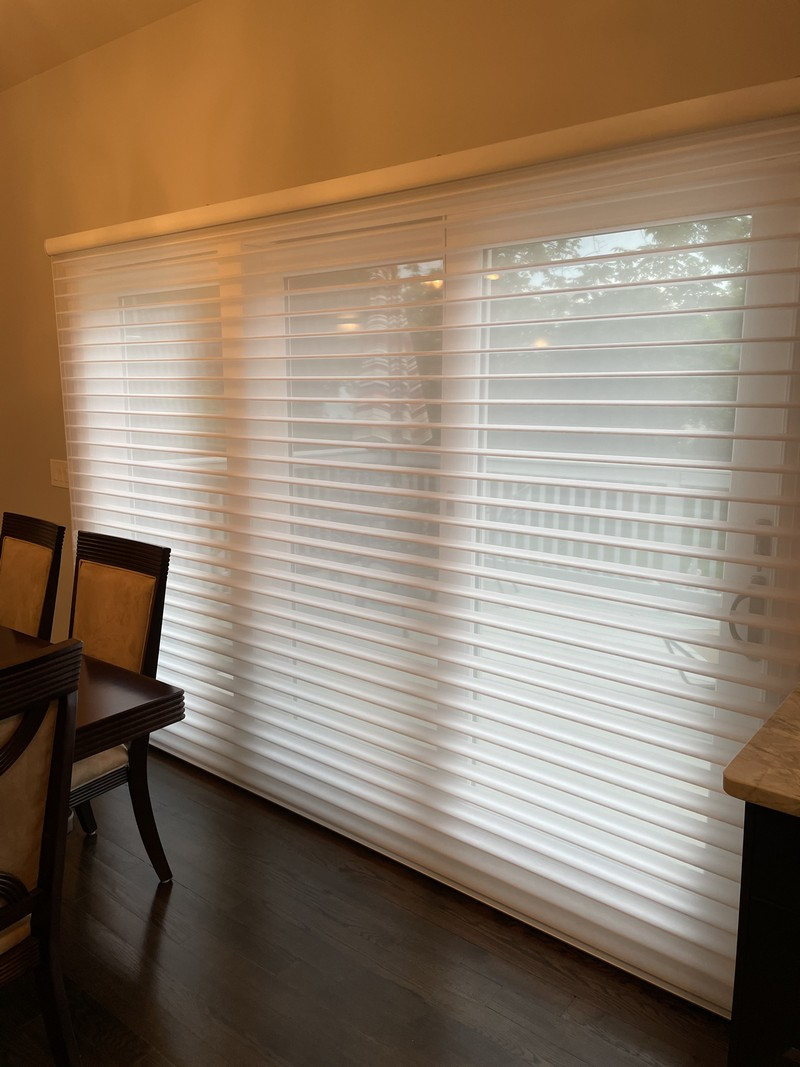 Hunter Douglas Silhouette Shades with Continuous Loop Cord Lift System in Ramsey NJ