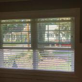 """2 1/2"""" FauxWood blinds, w/ majestic valances Fair Lawn, NJ"""