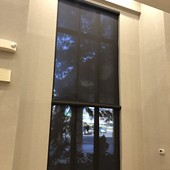Graber 3% Open Factor Solar Screen Shades with Cassette Valances in Mahwah NJ