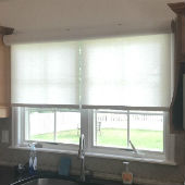 Graber Cordless Roller Shades With Cassette Valances in Allendale