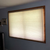 Graber Semi-Opaque Double Cell Cordless Cellular Shades in Saddle River, NJ