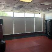 Graber Solar Screens and Shades for MK Muay Thai in Fair Lawn, NJ