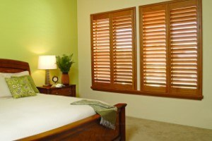 brown blinds